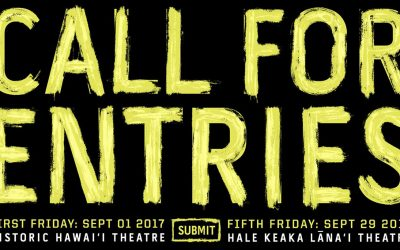 'Ohina 2017 Call for Entries